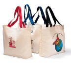 Colored Handle Tote Bag - Color Your Brand