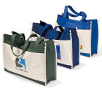 Large Polyester Convention Tote - Color Your Brand