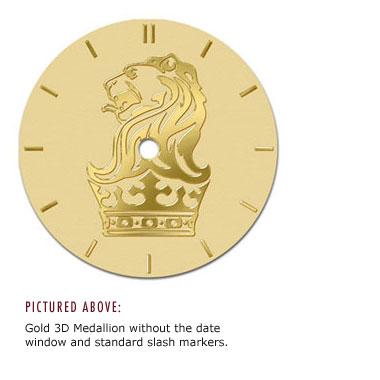 Selco Geneve Watches Clocks Medallion imprinted engraved custom