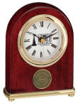 Duke C622 Rosewood Clock The Duke by Selco imprinted or Medallion Alarm 5 Year limited warranty