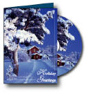 Holiday Double Play Musical Greeting Card and CD