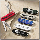 Multi-Purpose Pocket Knife imprinted with Your Logo - Great Tradeshow Give awayTool