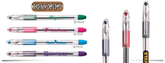 Pentel R.S.V.P. Stylus Ballpoint Pens - Black (2/Pack)